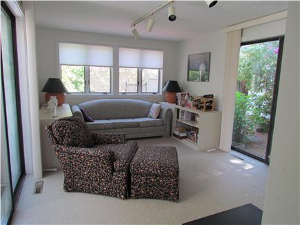 New Seabury, Mashpee New Seabury vacation rental - Sitting room--Can accommodate an inflatable mattress