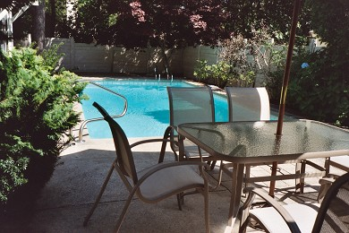 New Seabury, Mashpee New Seabury vacation rental - Breakfast outdoors is a real treat!