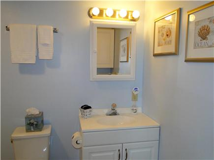 Harwich Port at Bank St. Beach Cape Cod vacation rental - Bathroom with walk-in shower, laundry facilities