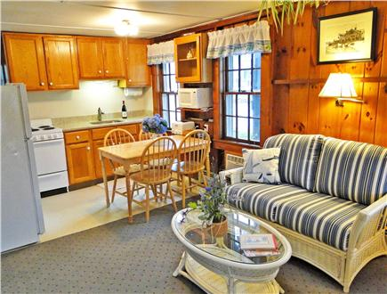 Harwich Port at Bank St. Beach Cape Cod vacation rental - Refinished kitchen with new granite counter top; sitting area
