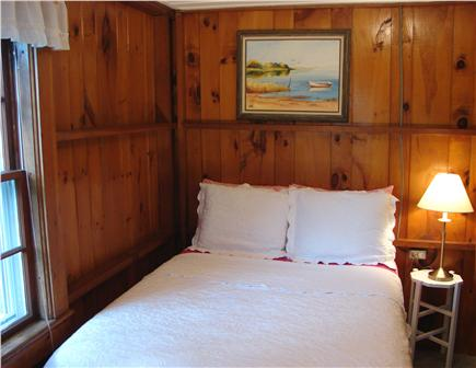 Harwich Port at Bank St. Beach Cape Cod vacation rental - Double bedroom with bureau, closet and water views