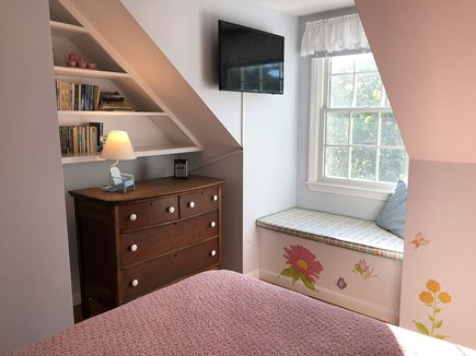 Eastham Cape Cod vacation rental - Beach Rose room window seat, HGTV,