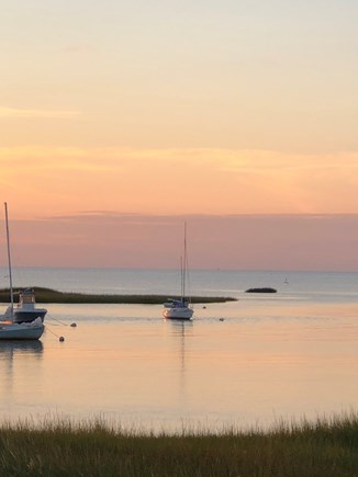 Eastham Cape Cod vacation rental - Boat Meadow Beach just at sunset...