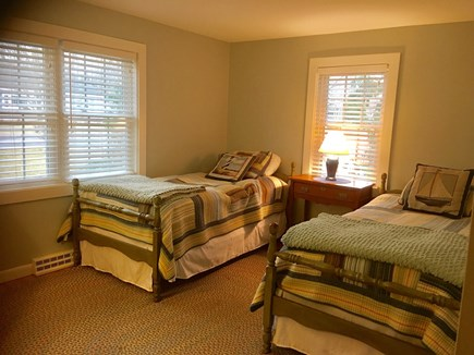 Dennis Cape Cod vacation rental - Second bedroom with 2 twin beds and enough room for air mattress