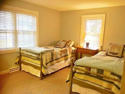 Dennis Cape Cod vacation rental - Second bedroom with 2 twin beds and enough room for air mattress,