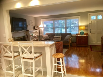 Dennis Cape Cod vacation rental - Open concept kitchen/living room provides easy entertaining