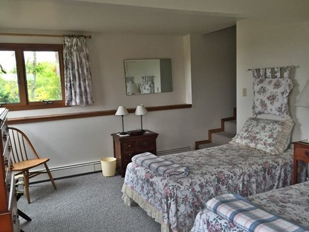 Truro Cape Cod vacation rental - Twin bedroom on entry level. Excellent ventilation.