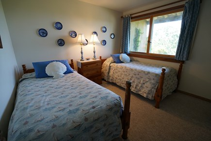 Truro Cape Cod vacation rental - Twin bedroom #2 on entry level.