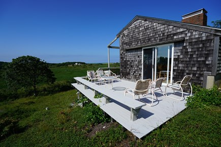 Truro Cape Cod vacation rental - Deck with magnificent views
