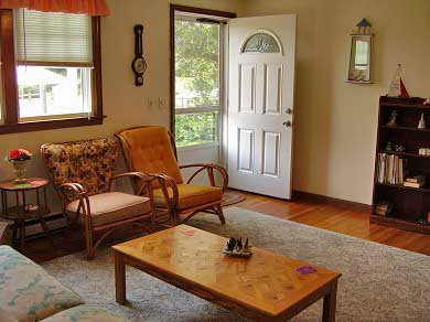 West Yarmouth Cape Cod vacation rental - One of the two living rooms