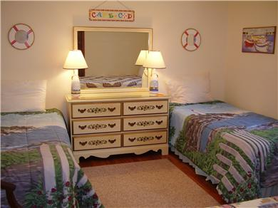 West Yarmouth Cape Cod vacation rental - Another bedroom , all with different beachy scenes.