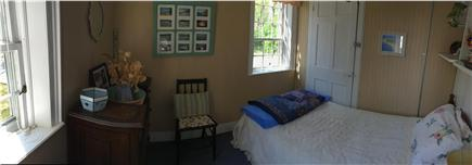 Truro Cape Cod vacation rental - Small downstairs bedroom (water view)