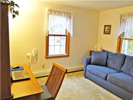 East Falmouth Cape Cod vacation rental - First floor office with double sofa bed