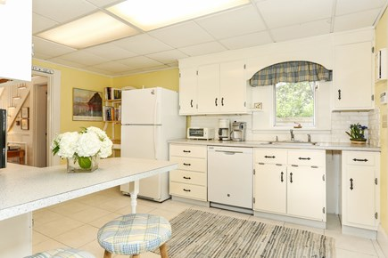 West Harwich Cape Cod vacation rental - Sunny white kitchen