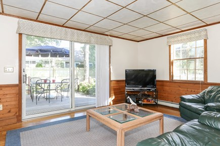 West Harwich Cape Cod vacation rental - Family Room with slider to deck