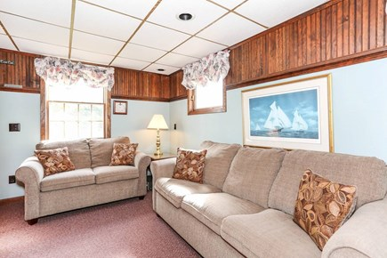 West Harwich Cape Cod vacation rental - Den with First Floor Bathroom