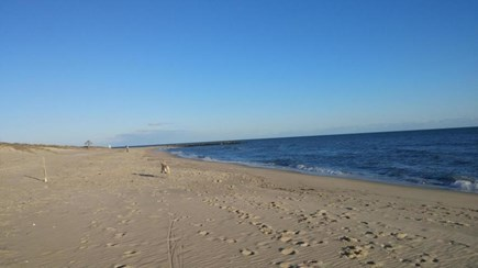 West Harwich Cape Cod vacation rental - Belmont Road Beach three minute walk from house