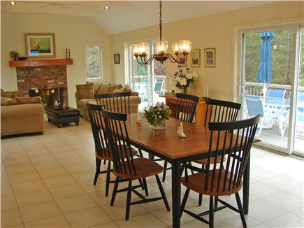 Wellfleet, Indian Neck Cape Cod vacation rental - Enjoy your Cape Cod meals inside or outside on the deck