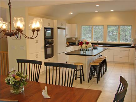 Wellfleet, Indian Neck Cape Cod vacation rental - Large kitchen adjoining dining area