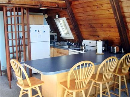 Wellfleet Cape Cod vacation rental - More kitchen with eating bar