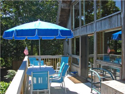 Wellfleet Cape Cod vacation rental - Spend hours on the deck and patio