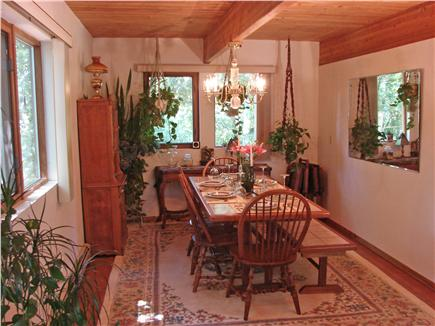 Wellfleet Cape Cod vacation rental - Attractive dining room with many windows