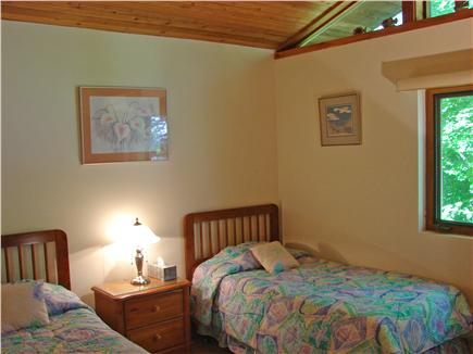 Wellfleet Cape Cod vacation rental - Main floor bedroom with two twin beds