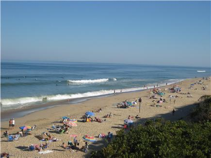 North Eastham Cape Cod vacation rental - Boogie boarding at Nauset Light Beach