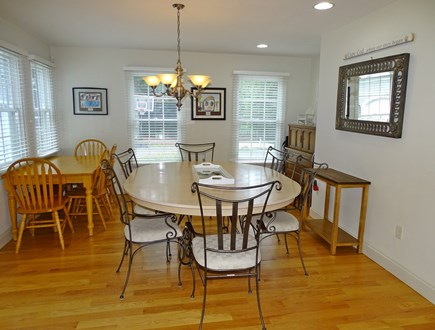 Brewster Cape Cod vacation rental - More spacious dining area, adjacent to kitchen