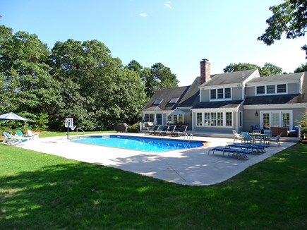 Brewster Cape Cod vacation rental - Spacious 5-bedroom home with large back yard area, pool