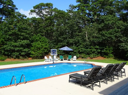 Brewster Cape Cod vacation rental - Several seating areas outside, private back yard