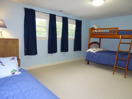 Brewster Cape Cod vacation rental - Bunk bed room with twin and trundle, sleeps 4