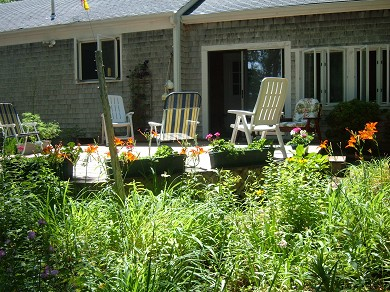 East Falmouth Cape Cod vacation rental - Lots of deck furniture to relax in.