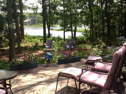 East Falmouth Cape Cod vacation rental - Enjoy the patio