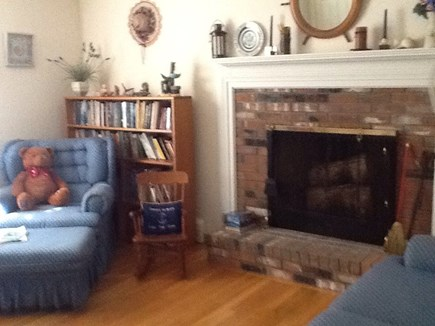 East Falmouth Cape Cod vacation rental - Comfortable seating enjoy watching Comcast cable tv,and wifi.