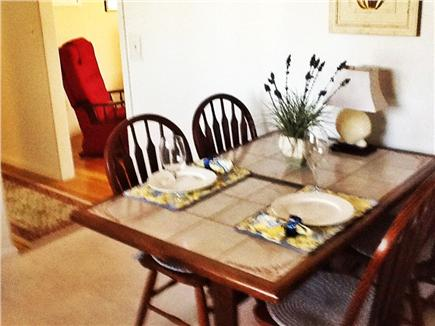 East Falmouth Cape Cod vacation rental - Kitchen with dining area