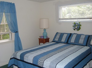 East Falmouth Cape Cod vacation rental - Master Bedroom has new queen size bed.