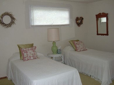 East Falmouth Cape Cod vacation rental - Twin beds in guest bedroom