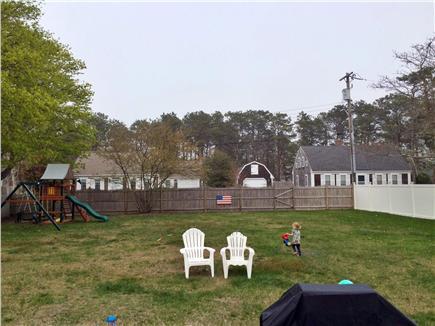 Harwichport Cape Cod vacation rental - Backyard