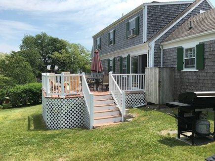 Chatham Cape Cod vacation rental - Rear of house with grill and deck