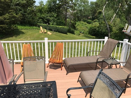 Chatham Cape Cod vacation rental - Deck and back yard