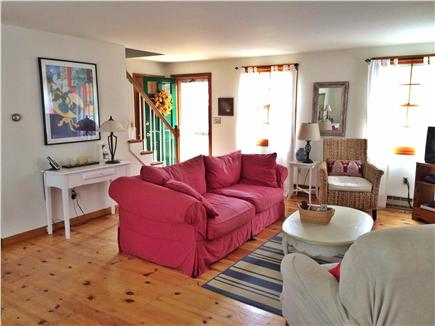 Eastham Cape Cod vacation rental - Welcoming Living Room