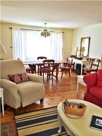 Eastham Cape Cod vacation rental - Living / Dining Room