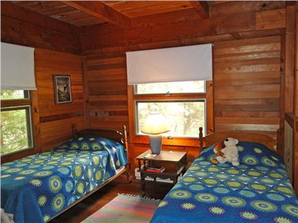 Wellfleet Cape Cod vacation rental - Twin bedroom on the lower floor