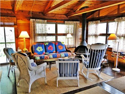 Wellfleet Cape Cod vacation rental - Spacious living area with a lot of natural light