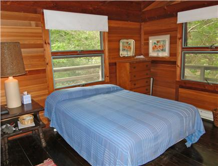 Wellfleet Cape Cod vacation rental - Queen bedroom on the upper floor