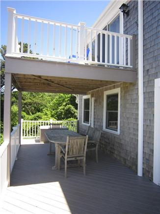 Brewster Cape Cod vacation rental - Deck View