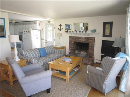 Brewster Cape Cod vacation rental - Living areas with views of Cape Cod Bay