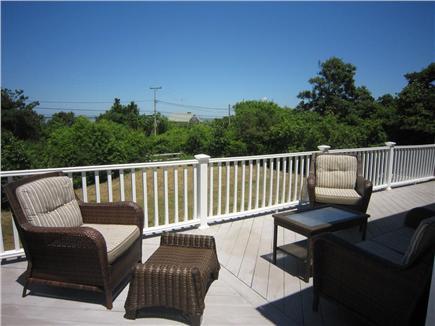 Brewster Cape Cod vacation rental - Alternate deck view