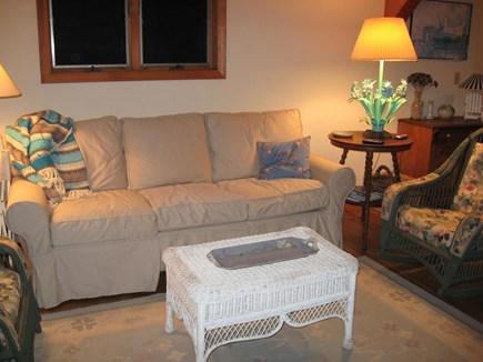 Wellfleet, Ocean side of Route 6 Cape Cod vacation rental - Living Room
